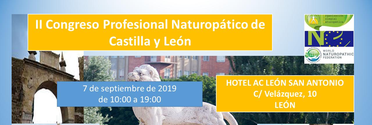 II Congreso Profesional Naturopático Castilla y León